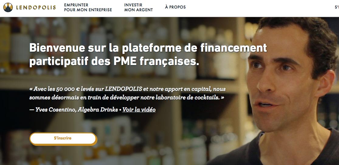 Lendopolis : Plateforme de prêt aux TPE / PME du groupe KissKissBankBank