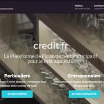 Credit.fr : Plateforme de prêts aux PME – 20 € offerts