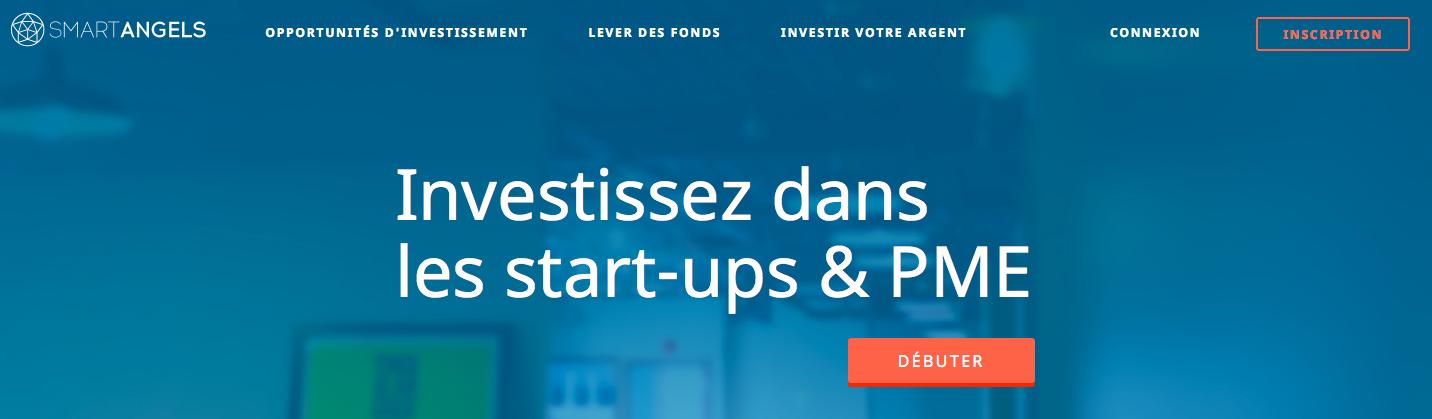 Smartangels : Plateforme de crowdfunding en capital