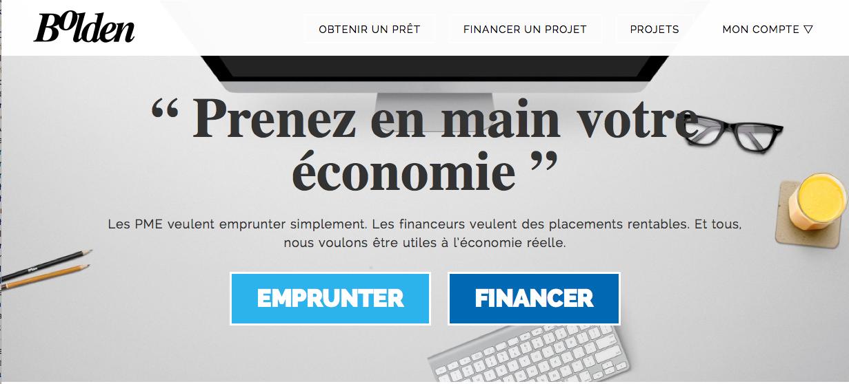 Bolden : Plateforme de prêts aux PME