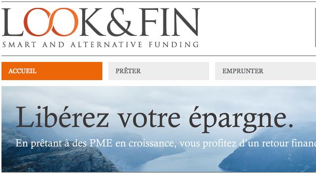 Look&Fin : plateforme belge de crowdlending