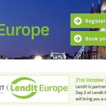 LendIt Europe : 20 et 21 octobre 2015 à Londres