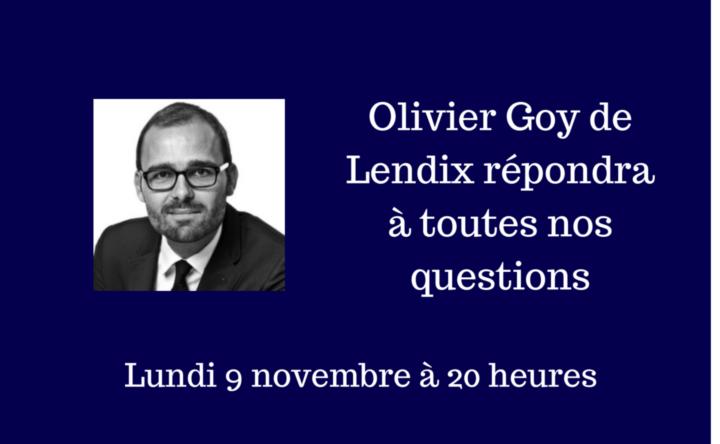 Interview en direct d'Olivier Goy - Lendix