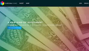 chroma Fund : plateforme d'investissement grace à la blockchain et au bitcoin