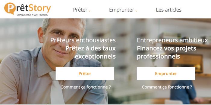 Pretstory : Plateforme de prêt aux entreprises avec test psychométrique des dirigeants