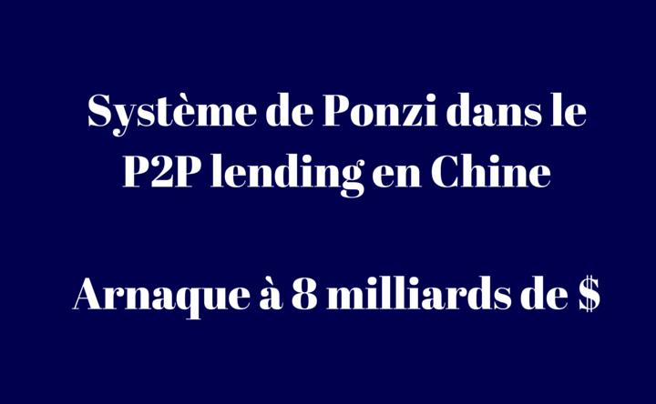 Ezubao : Arnaque à 8 miliards dans le crowdlending en Chine