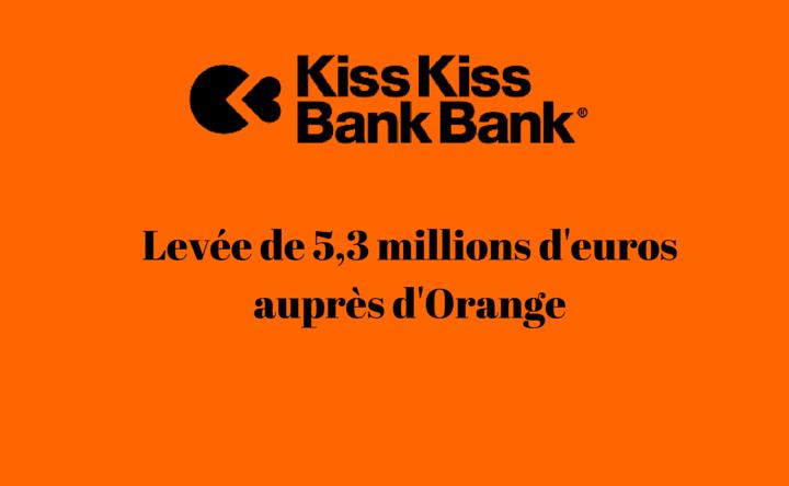 KissKissBankBank lève 5 M€ auprès d'Orange pour accélérer en crowdlending