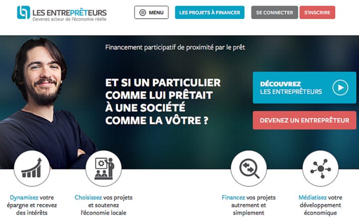 Plateforme Les entreprêteurs : Financement des TPE / PME et e-marketing