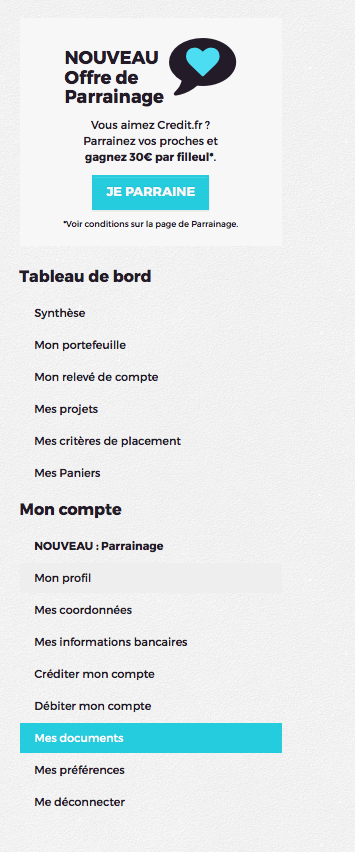 Menu_mes_documents