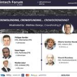 Crowdlending, Crowdfunding, Crowdcrowding – Paris Fintech Forum – 28 janvier 2016