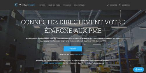 Wesharebonds : Plateforme de pret obligataire aux PME