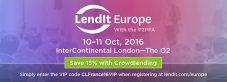 Lendit Europe 2016 : La conférence européenne du P2P Lending