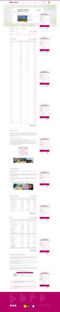Nouvelle page projet Unilend