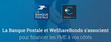 partenariat banque postale wesharebonds