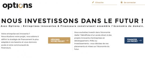 options : Plateforme spécialisée en innovation