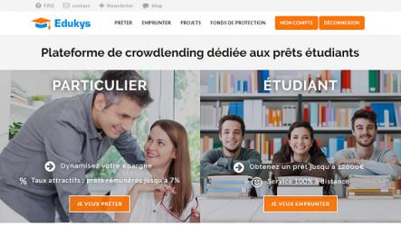 edukys : plateforme de pret aux étudiants