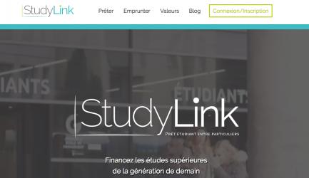 studylink : financement participatif pour étudiants