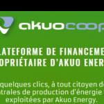 AkuoCoop : Plateforme de financement participatif du groupe Akuo Energy