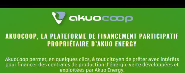 Akuocoop : plateforme de crowdlending en énergie renouvelable