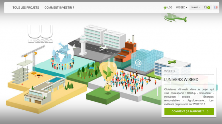 wiseed : Plateforme d'equity crowdfunding et de crowdfunding immobilier