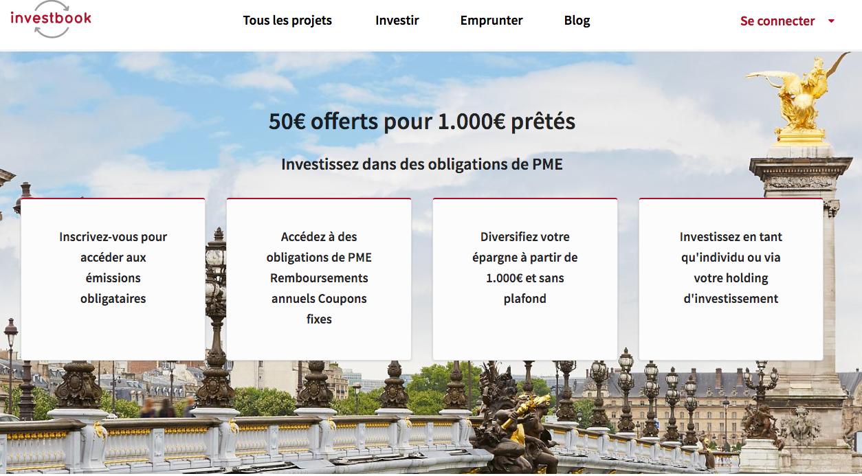 Code bonus / parrainage Investbook
