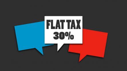 Flat tax et financement participatif