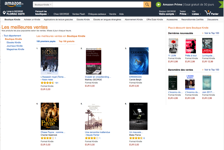 """Le livre """"investir en crowdlending"""" est N°2 sur Amazon"""