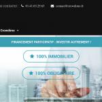 Crowdimo : Plateforme de financement participatif immobilier