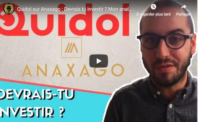 levée de fonds de Quidol sur Anaxago
